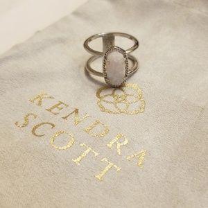 Drusy Elyse Ring Kendra Scott NWOT